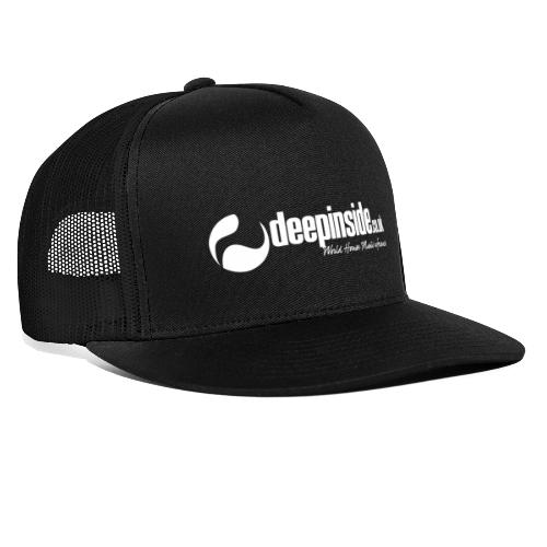 DEEPINSIDE World Reference logo white - Trucker Cap