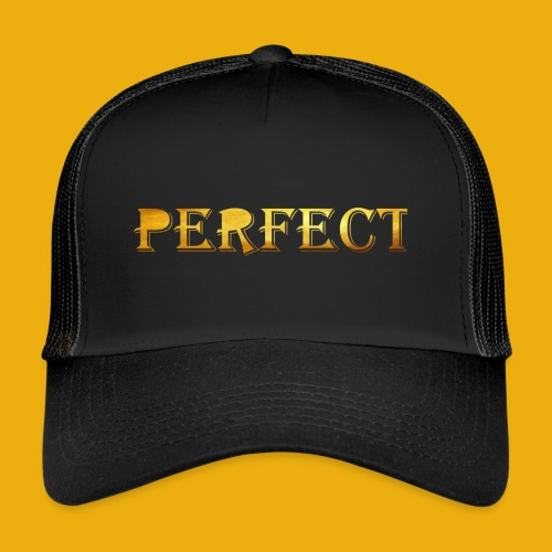 perfect metalic gold merch - Trucker Cap