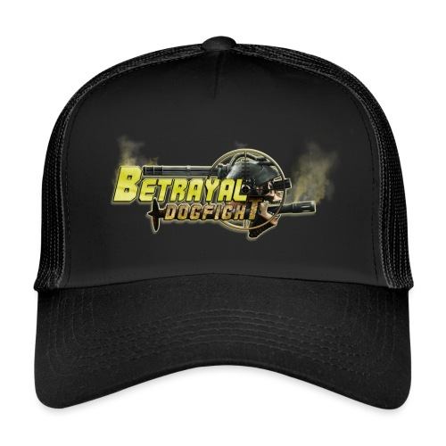 Betrayal Dogfight logo - Trucker Cap