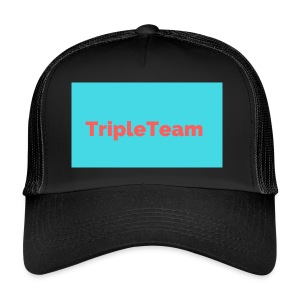 TripleTeam Logo - Trucker Cap