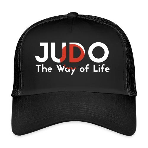 judo the way of life - Trucker Cap