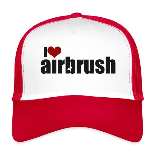 I Love airbrush - Trucker Cap