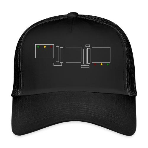 Rasta Chenille - Trucker Cap
