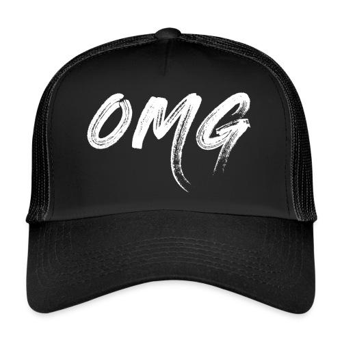 OMG, valkoinen - Trucker Cap