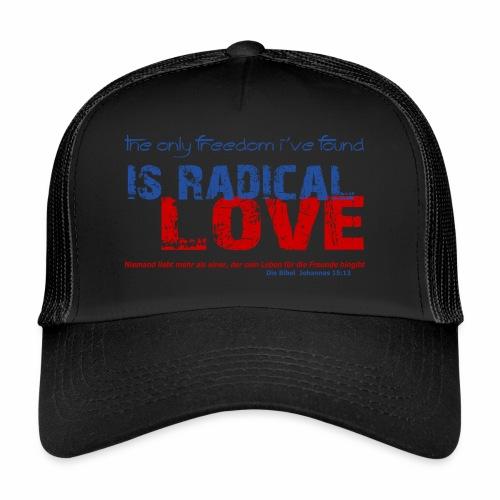 Radikale Liebe blue - Trucker Cap