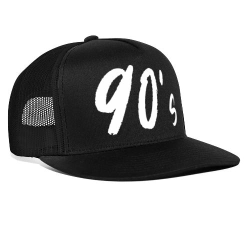 90er Party Kostüm Outfit Disko Shirt - Trucker Cap