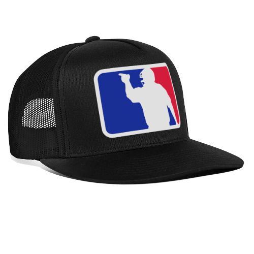 Baseball Umpire Logo - Trucker Cap