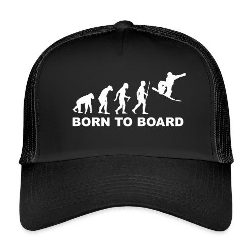Board_wit - Trucker Cap