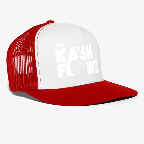 The Kash Flowz Official Bomb White - Trucker Cap