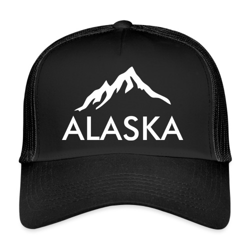 Alaska simple white - Trucker Cap