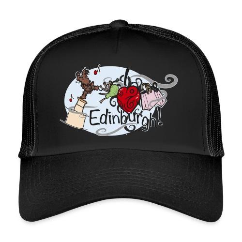 I love Edinburgh - Trucker Cap