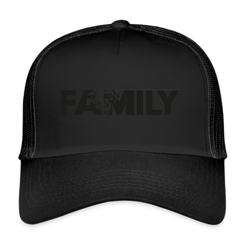 Family Logo Sticker SW - Trucker Cap
