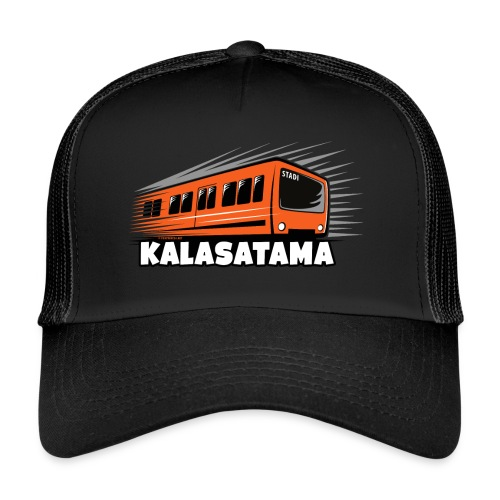 11- METRO KALASATAMA - HELSINKI - LAHJATUOTTEET - Trucker Cap