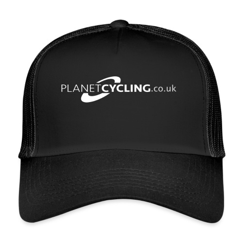 Planet Cycling Web Logo - Trucker Cap