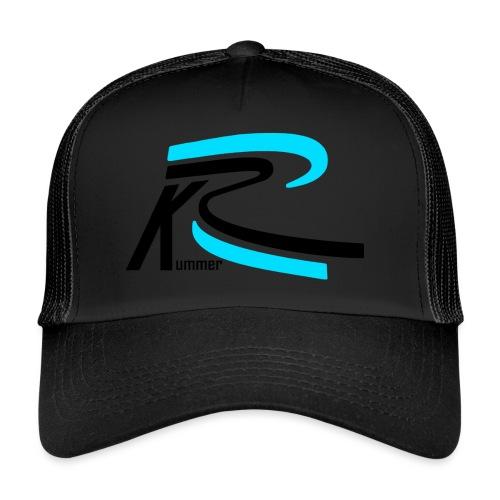 Roland Kummer Logo Schwarz - Trucker Cap