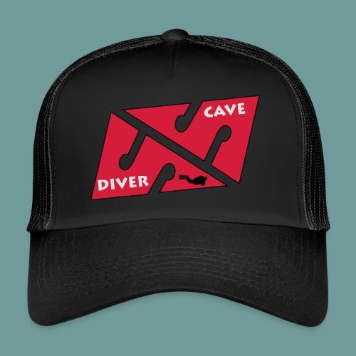 cave_diver_01 - Trucker Cap