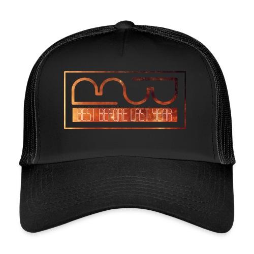 Cap logo Orange - Trucker Cap