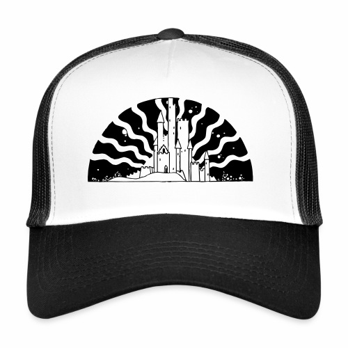 Fairytale Castle Sunrise - Trucker Cap