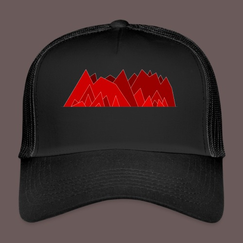 Simplistic Mountains - Trucker Cap