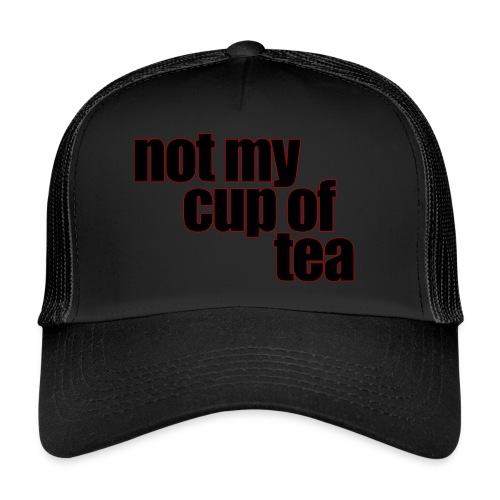 Perfect for the coffee cup - Trucker Cap