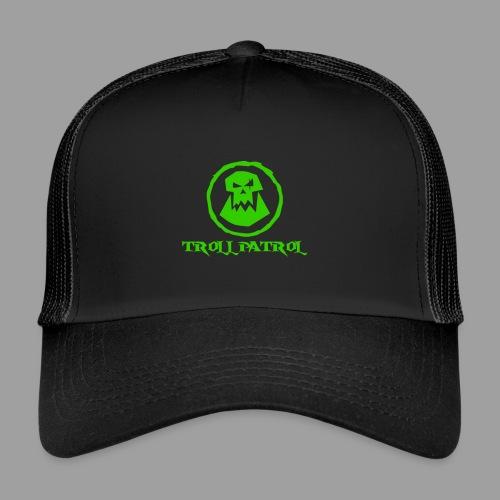 Troll Patrol Logo 2 - Trucker Cap