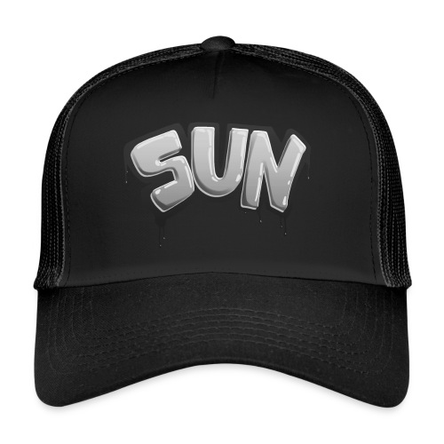 Tag Sun N&B - Trucker Cap