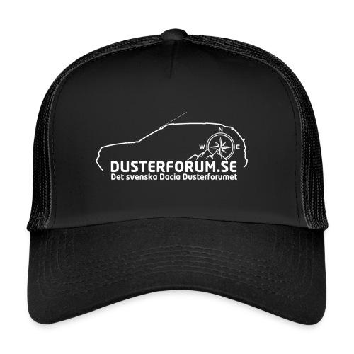 Dusterforum logo #2 Vit - Trucker Cap