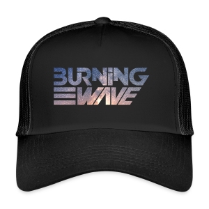 Burning Wave - Shock Wave - Trucker Cap