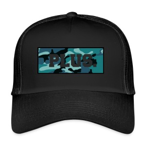 blue camo box - Trucker Cap