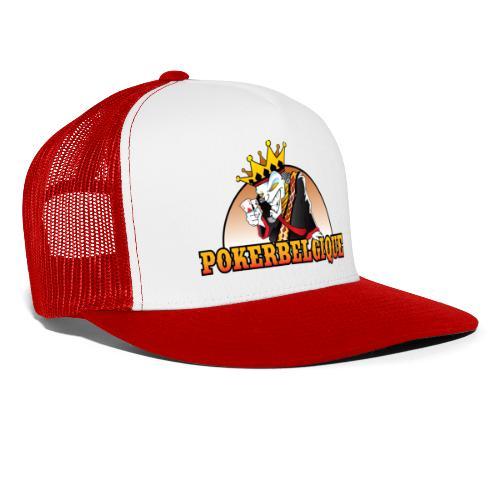 Logo Poker Belgique - Trucker Cap