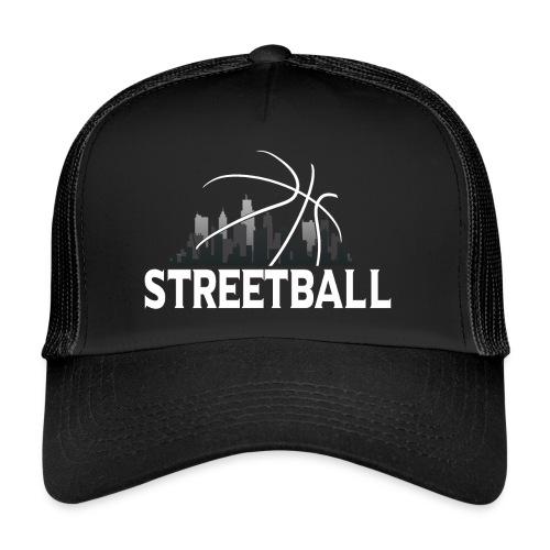 Streetball Skyline - Street basketball - Trucker Cap