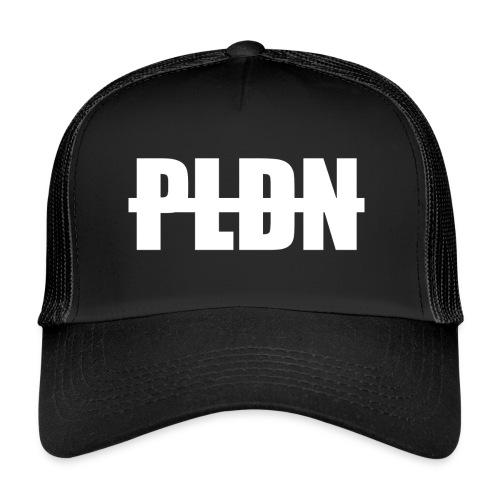 PLDN weiss - Trucker Cap
