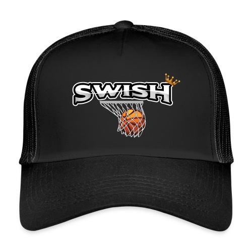 The king of swish - For basketball players - Trucker Cap