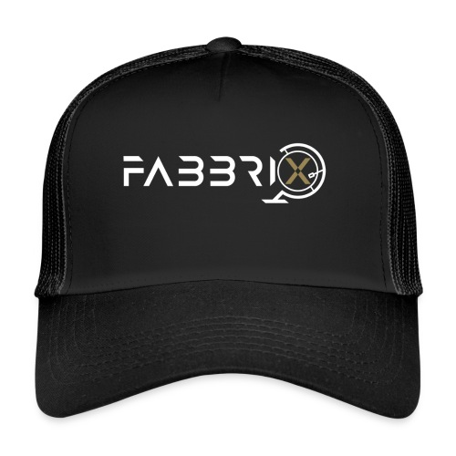 FABBRIXX white gold HQ SHOP - Trucker Cap