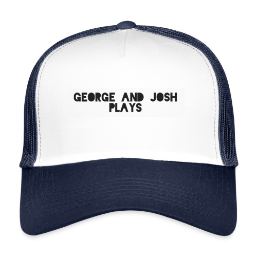 George-and-Josh-Plays-Merch - Trucker Cap