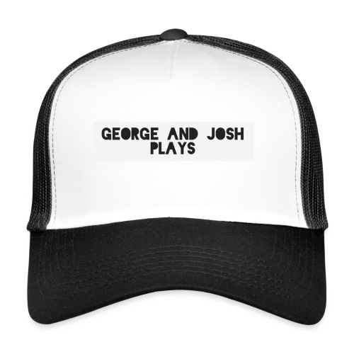 George-and-Josh-Plays-Merch - Trucker Cap