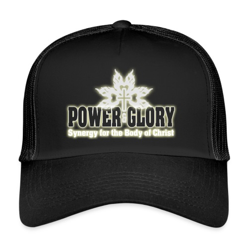 Power and Glory Logo glow - Trucker Cap