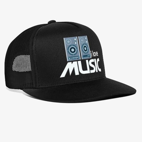 Amo la música 02 - Gorra de camionero