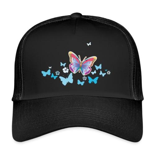 Schmetterlinge Falter Insekten Frühling Sommer - Trucker Cap