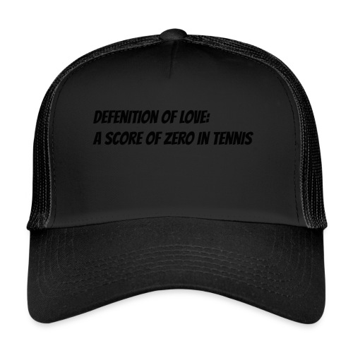 Tennis Love sweater men - Trucker Cap