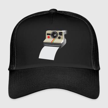 polaroid camera - Trucker Cap