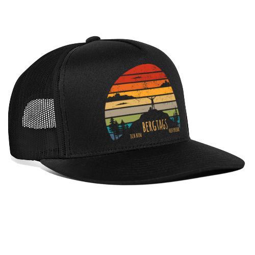 lustige Wanderer Sprüche Shirt Geschenk Retro - Trucker Cap