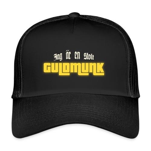 Jag är en stolt GULDMUNK - Trucker Cap