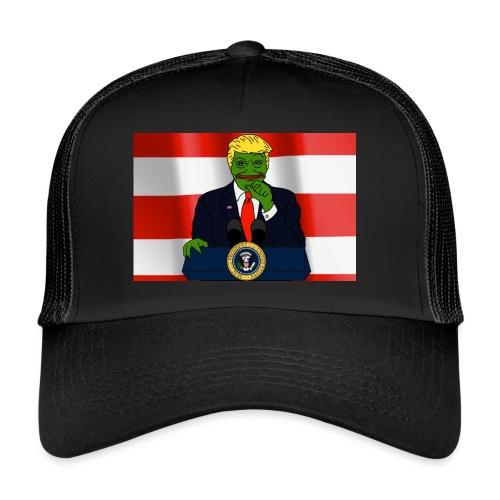 Pepe Trump - Trucker Cap