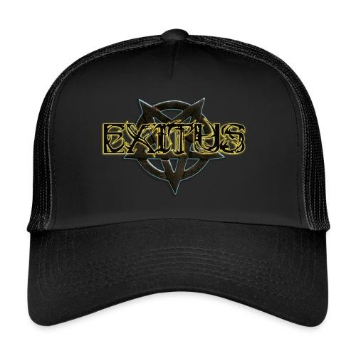 Exitus Schriftzug - Trucker Cap