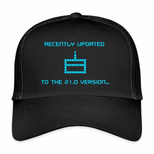 Recently updated to version 21.0 - Trucker Cap