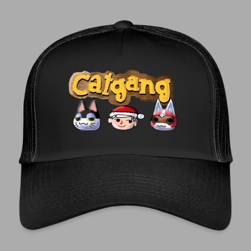 Animal Crossing CatGang - Trucker Cap