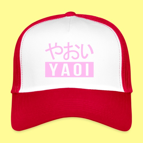 Pink Yaoi やおい - Trucker Cap