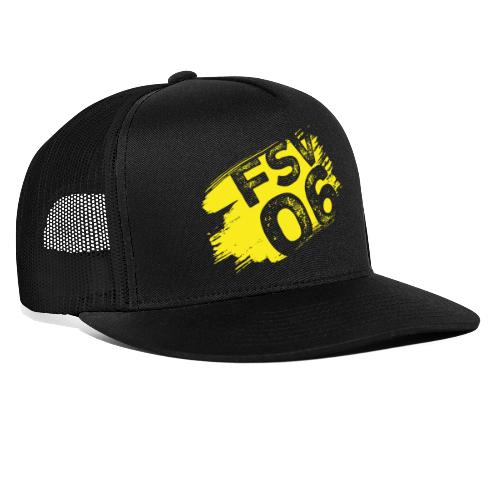 Hildburghausen FSV 06 Graffiti gelb - Trucker Cap