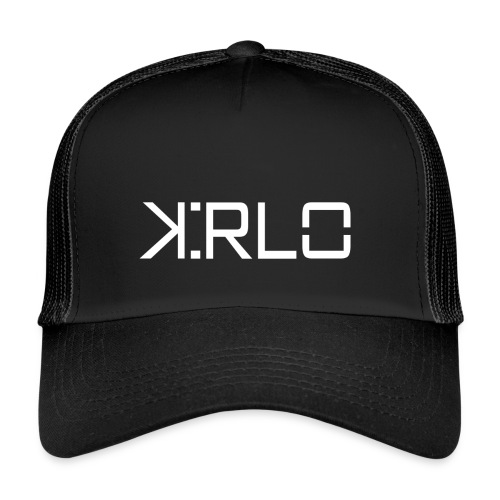 Kirlo Logo Blanco - Gorra de camionero